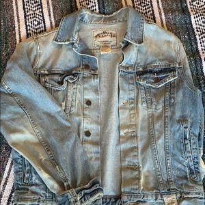 Boyfriend Style Denim Jacket